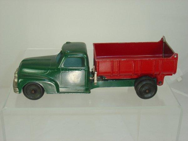 2: Metal Hubley Dump Truck
