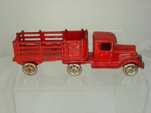 5: Coast to Coast Cast Iron Truck and Trailer
