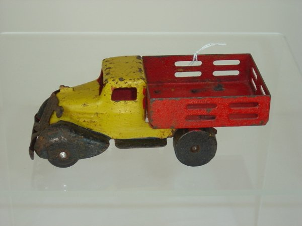 6: Metal Stake Bed Truck