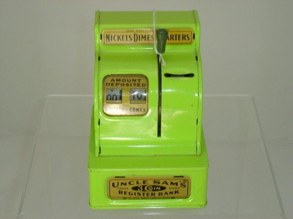 11: Uncle Sam's Coin Register Bank
