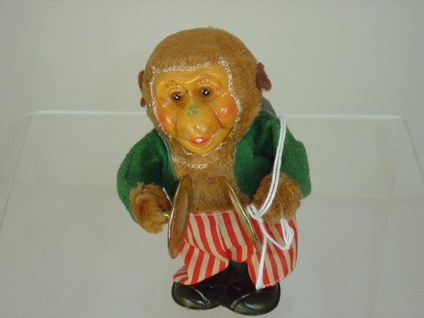 12: Celluloid Wind Up Monkey