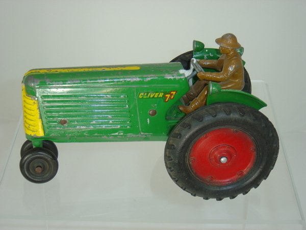 """16: Oliver """"77"""" Tractor"""