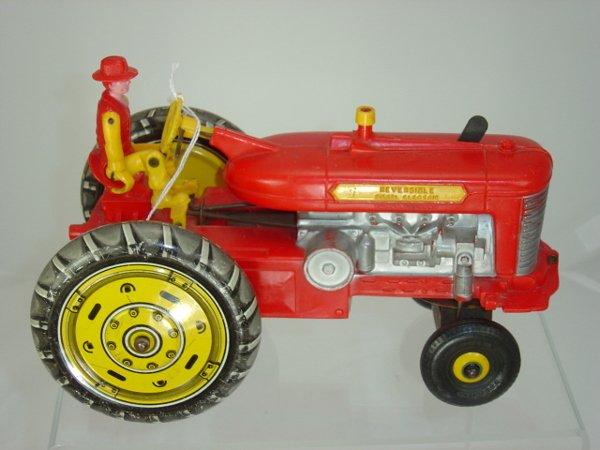 21: Marx Tin & Plastic Tractor