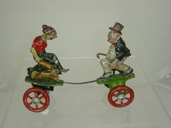 272: Tin maggie & Jiggs Spring Toy
