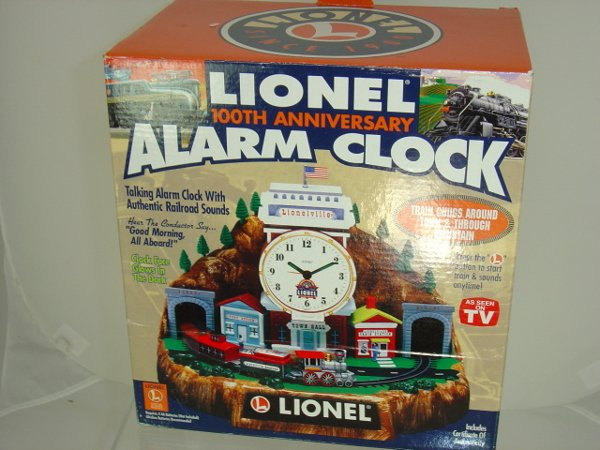 540: Lionel 100th Anniversary Alarm Clock