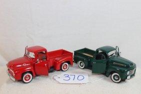 2 Ford Trucks 1948 & 1956