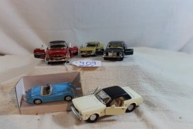 Group Of 5-vintage Cars