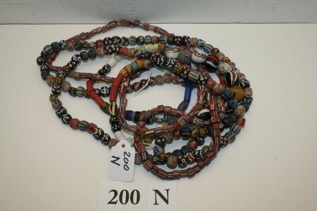 3 Strands Trade Beads
