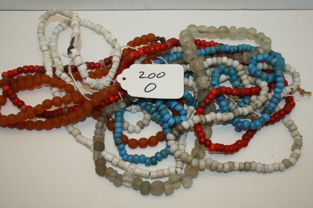 6 Strands Trade Beads