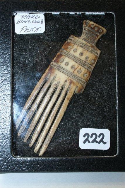 Iroquois Bone Comb