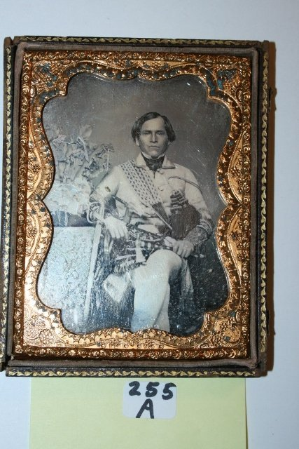 Ambrotype  an Indian Chief