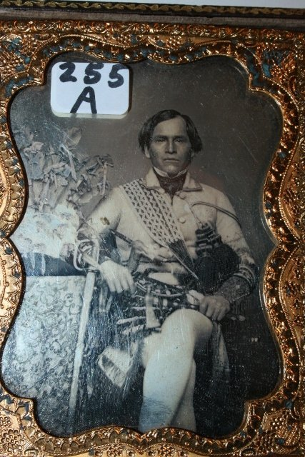 Ambrotype  an Indian Chief - 2