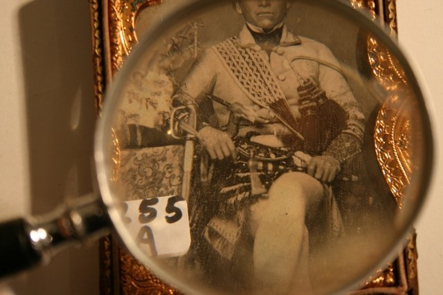 Ambrotype  an Indian Chief - 5