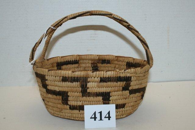 Handled Papago Basket