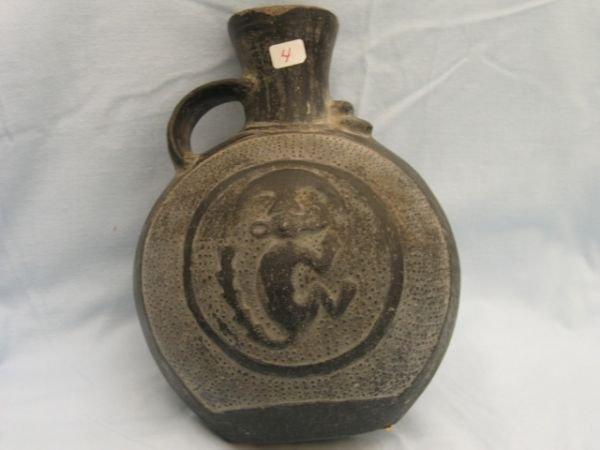 4: Pre-Columbian Effigy Water Bottle