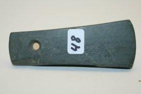 Banded Slate Bell Pendant