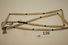 Strand Of Hair Pipe Beads