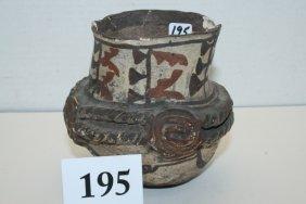 Painted Polychrome Zuni Jar
