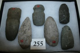 Group Of 6 Stone Artifacts