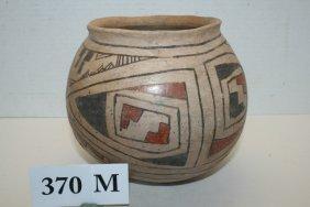 Polychrome Prehistoric Olla