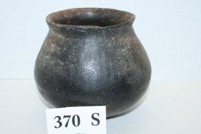 Black Pottery Olla