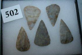 5 Contemporary Flint Ridge Cache Blades