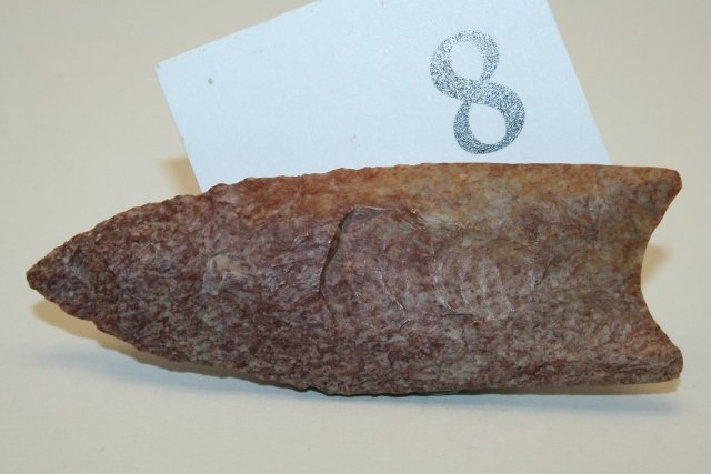 """3 3/16"""" Paleo Fluted Point"""