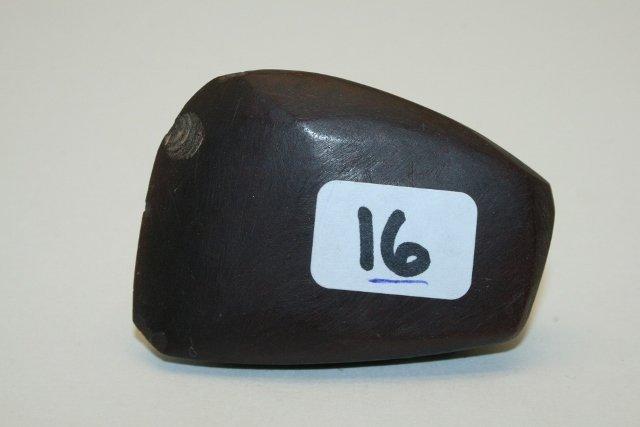 "1 7/8"" Hematite Celt"