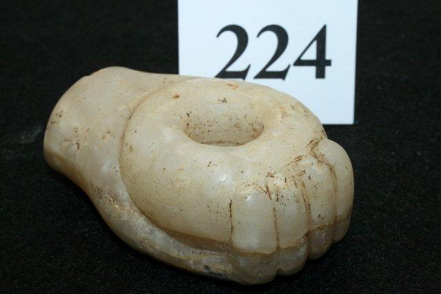 Quartz Hand Holding Bowl Pipe - 2