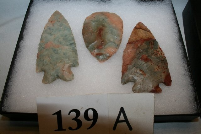 3 Colorful Roy Miller Contemporary Flints – all with