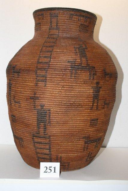 Western Apache Basket Olla