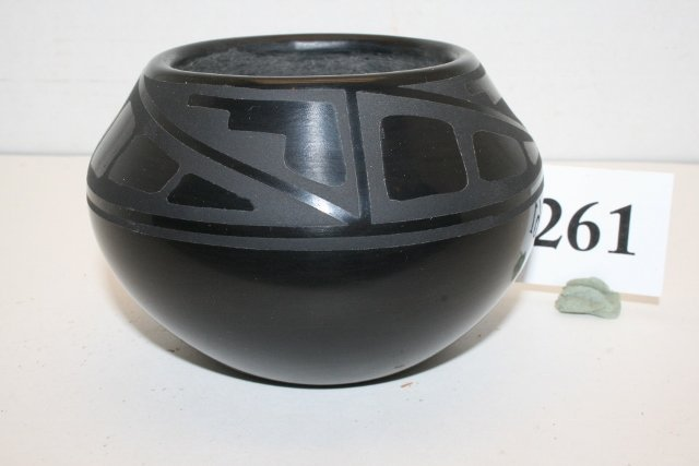 Black on Black Bowl