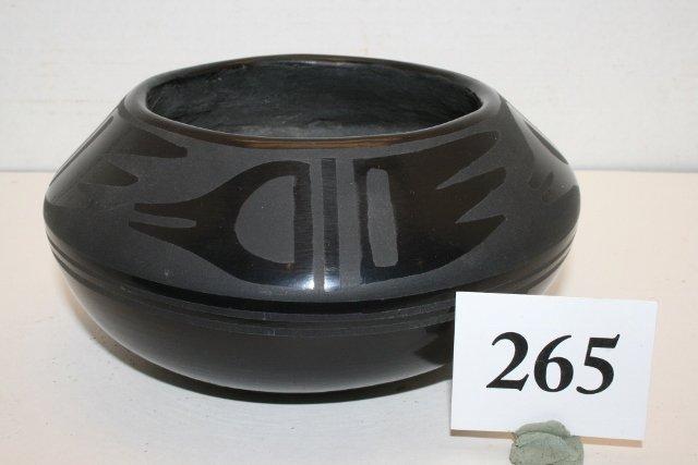 Black on Black Bowl