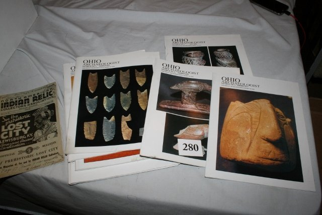 10 Ohio Archaeologist Quarterly's
