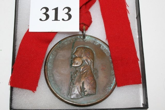 Bronze Jefferson 1801 Peace Medal
