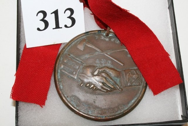 Bronze Jefferson 1801 Peace Medal - 2