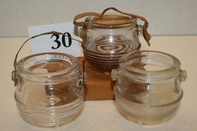 3 Kettle Candy Containers
