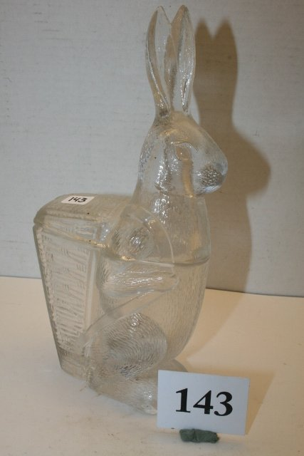 2 Pc. Rabbit with Basket Candy Container - 2