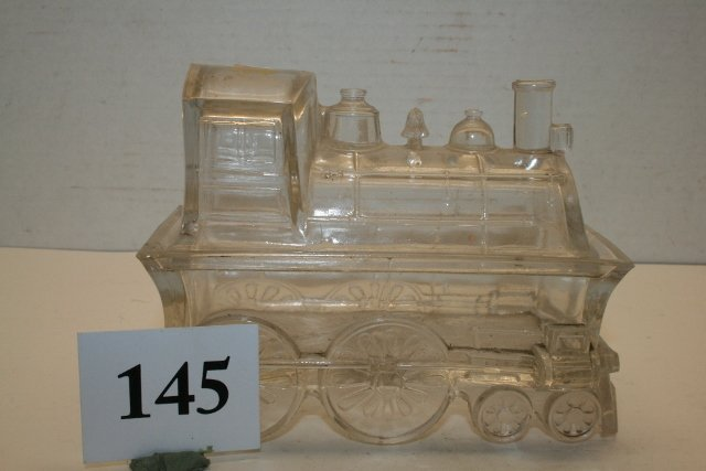 2 Pc. Locomotive Candy Container