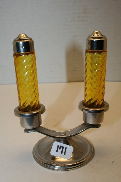 Double Candlestick Candy Container