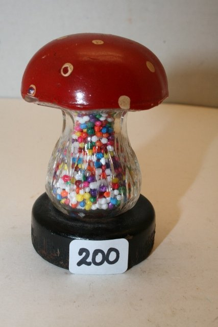Mushroom Candy Container