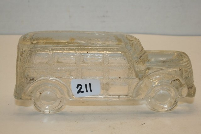 Station Wagon Candy Container