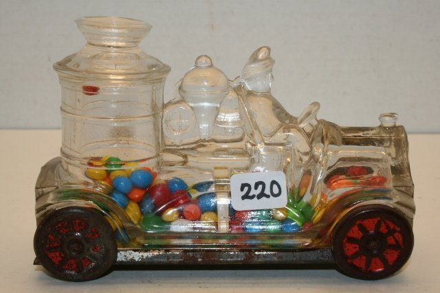 1914 Stough Fire Truck Candy Container