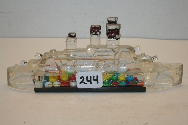 Battleship Candy Container