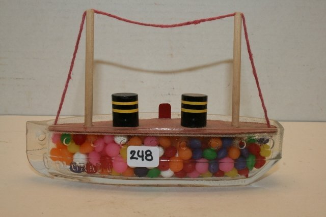 "Boat ""Colorado"" Candy Container"