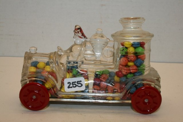 1914 Stough Fire Engine Candy Container