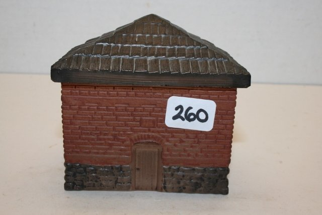 Block House Candy Container