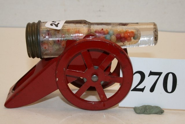 Cannon Candy Container