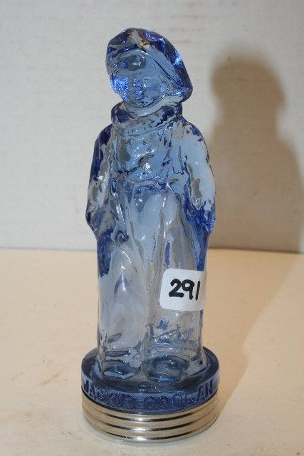 Blue Jackie Coogan Candy Container