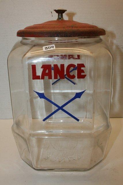 Lance Counter Jar